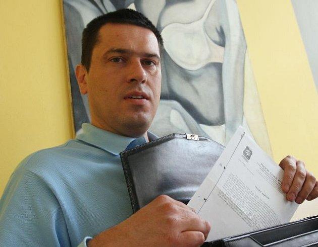 Klíčový svědek kauzy Berka, právník Daniel Thonat.