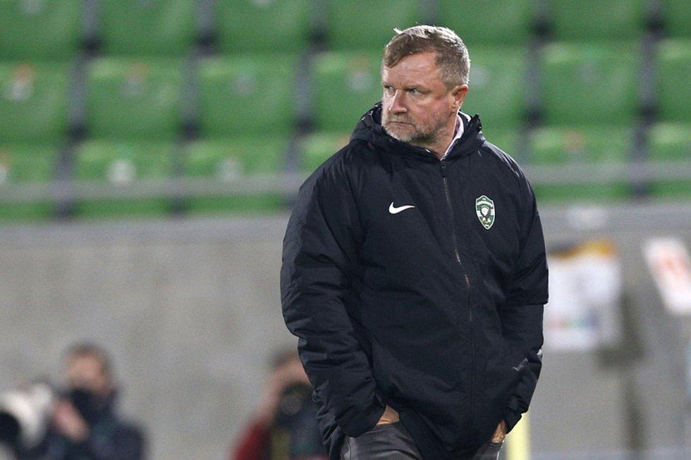 Trenér Pavel Vrba.
