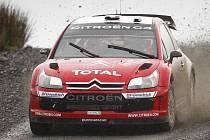 Sébastien Loeb na Really Británie.