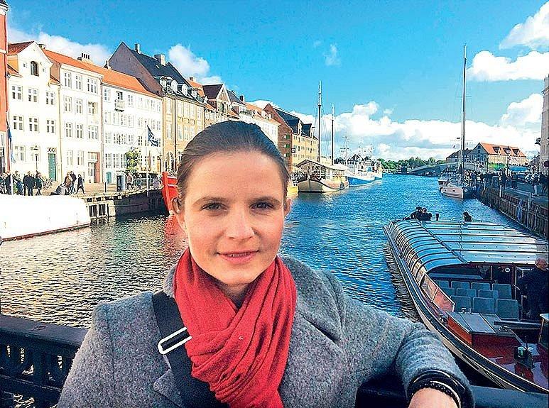 Fotka z Kodaně, kde se v roce 2017 konala konference Evropské stomické asociace.