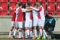 Slavia porazila Brno 2:0