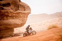 Roman Krejčí na Dakaru