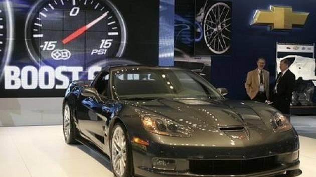 Automobilová klasika byla v Bruselu zastoupena novinkou Chevrolet Corvette ZR1.