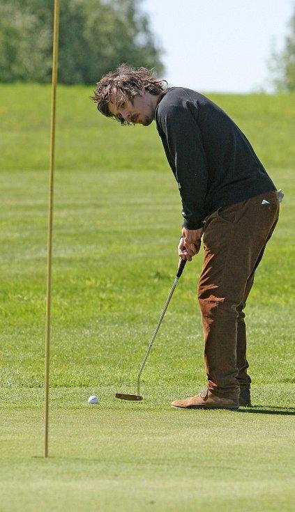 Rok 2013: Ondřej Bank na golfu