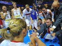 České basketbalsitky mají za sebou na mistrovství světa vítěznou premiéru.