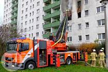 Zásah německých hasičů