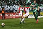 Úvodní jarní kolo FORTUNA:LIGYBohemians - Slavia 1:0 (70. Vodháněl)Foto: Antonín Vydra
