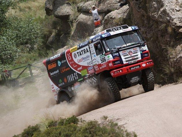 Martin Kolomý na Rallye Dakar.
