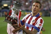 Hrdina. Mario Mandžukič vystřelil Atlétiku Madrid španělský Superpohár.