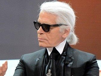 Módní návrhář Karl Lagerfeld
