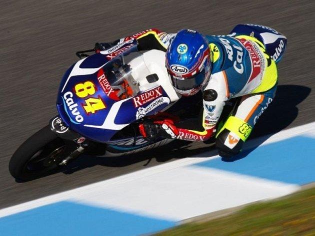 Jakub Kornfeil v GP Španělska.