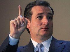 Republikánský senátor Ted Cruz.