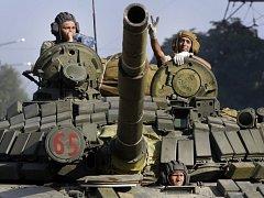 Proruští separatisté na Ukrajině. Ilustrační foto