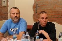 Ivo Vašíček a Ivan Bartoš na snímku z roku 2013.