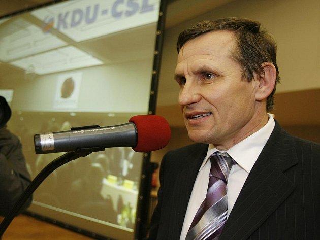 Předseda KDU-ČSL Jiří Čunek