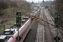 Bouře Eberhard zpustošila Německo