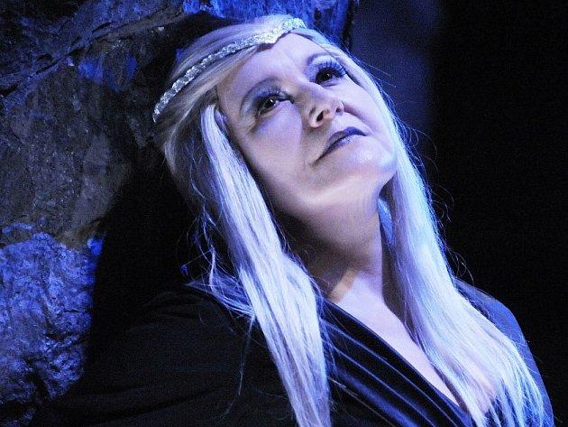 Eva Urbanová v roli Libuše.