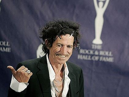 Kytarista legendárních Rolling Stones Keith Richards