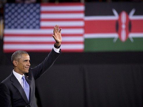 Americký prezident Barack Obama na návštěvě Keni