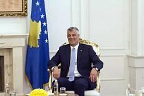 Kosovský prezident Hashim Thaçi.