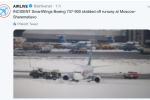 Nehoda letadla v Moskvě