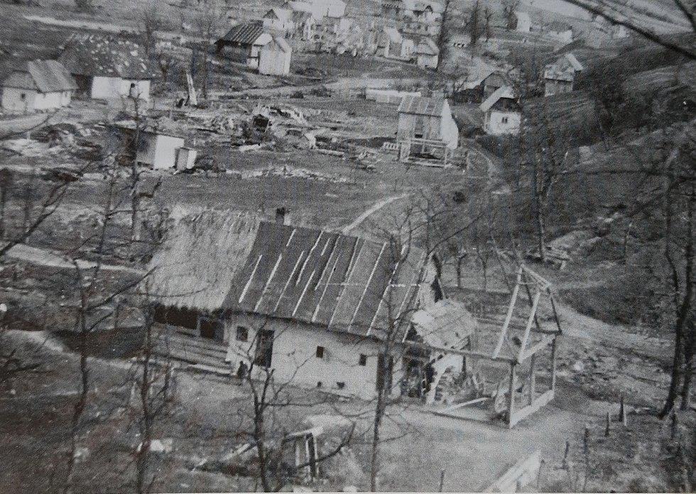 Obec Nižná Pisaná.