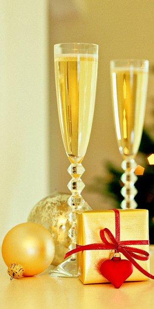 Slavnostní vánoční stůl