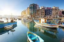 Středomořský ostrov Malta je malebné místo.