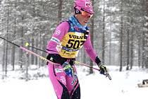 Lyžařka Kateřina Smutná na trati Vasova běhu 1. března 2020.