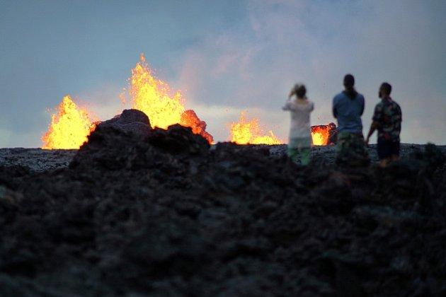 Sopka Kilauea nepřestává v chrlit lávu.
