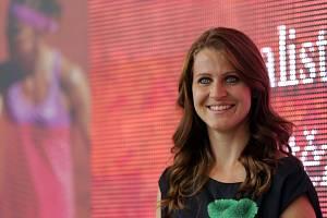 Finalistka French Open Lucie Šafářová v Prostějově.