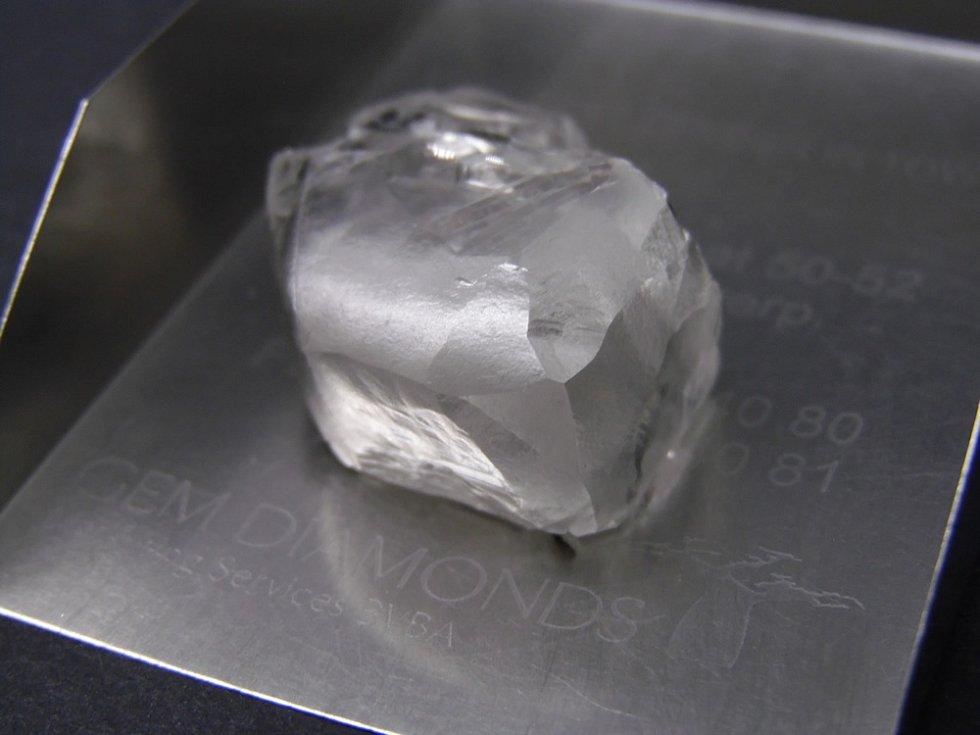 Pátý největší diamant na světě.