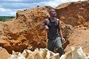Těžba mědi v Africe