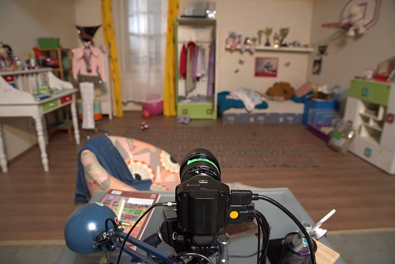 Z natáčení dokumentárního filmu V síti.