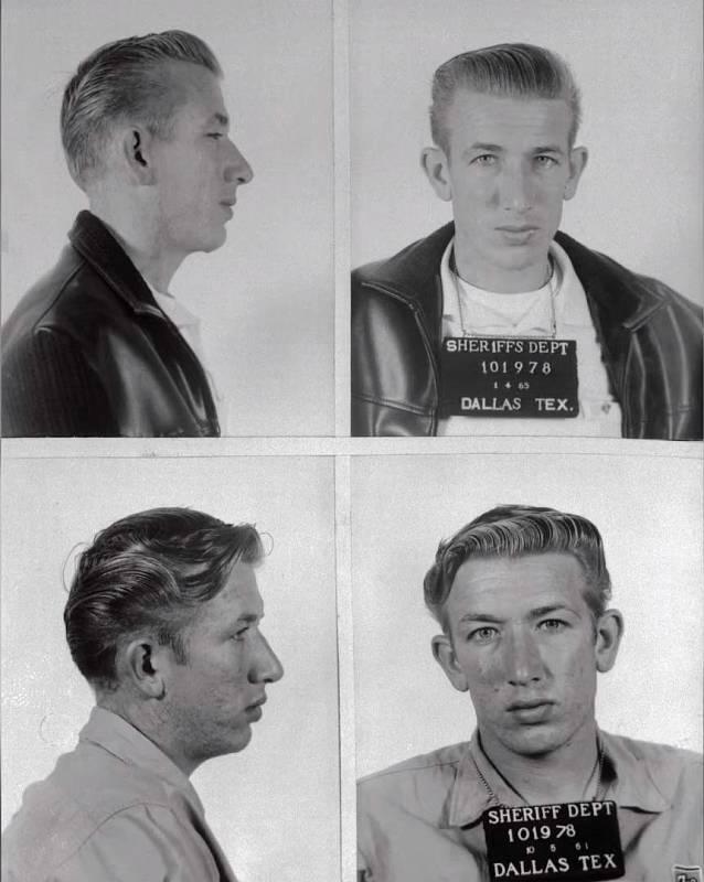 Richard Speck na policejních fotografiích po zatčení