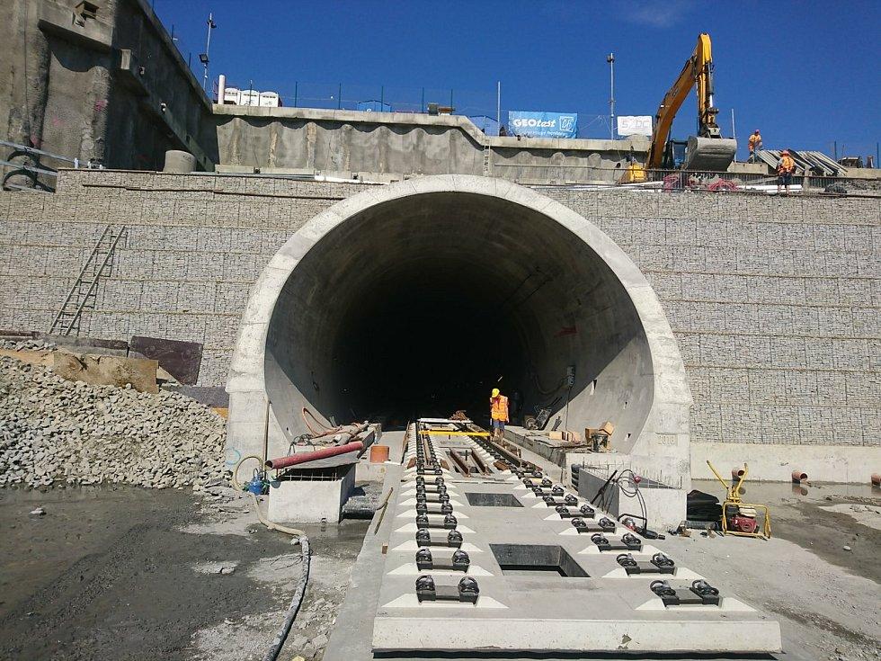 Výstavba Ejpovického tunelu