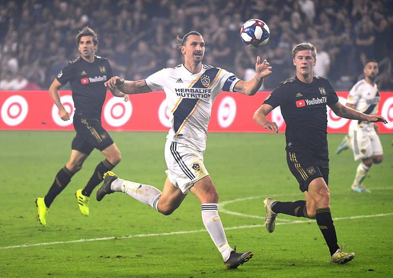 Zlatan Ibrahimović v dresu Los Angeles Galaxy