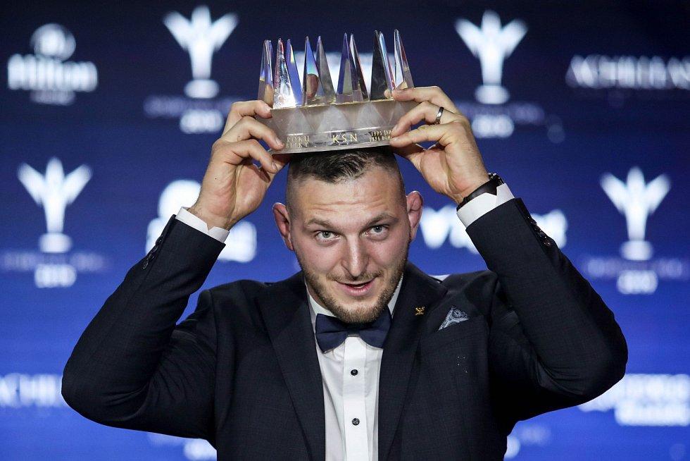 Ocenění Sportovec roku se předávalo 20. prosince v Praze. Na snímku Lukáš Krpálek