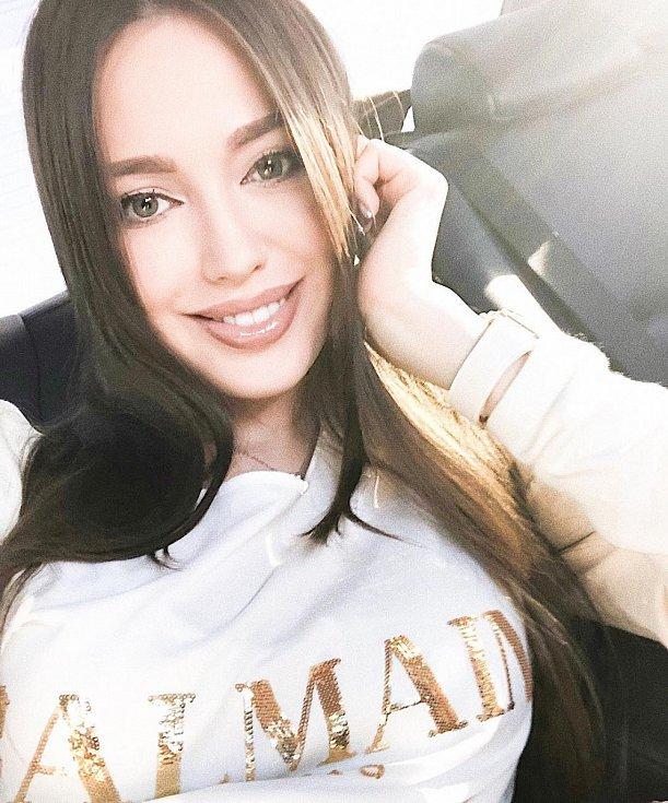 Anastasia Kostenko, přítelkyně Dmitrije Tarasova.