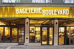 Archicraft dlouhou dobu pracovali pro značku Bageterie Boulevard. Na snímku pobočka ve Francouzské ulici v Praze.