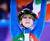 Blonďatá Italka se dočkala zlata z olympiády.