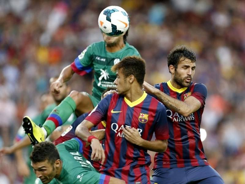 FC Barcelona vs. Levante.
