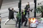 V australském Melbourne bylo pobodáno několik lidí