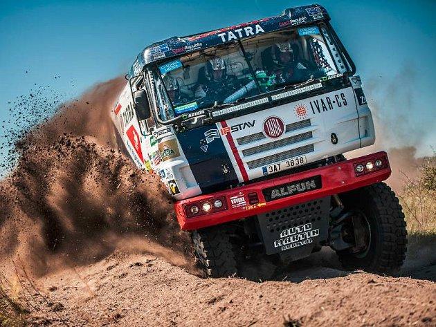 Český kamion týmu Tatra Buggyra Racing na Baja Poland