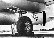 7. Convair B-36J Peacemaker - podvozek