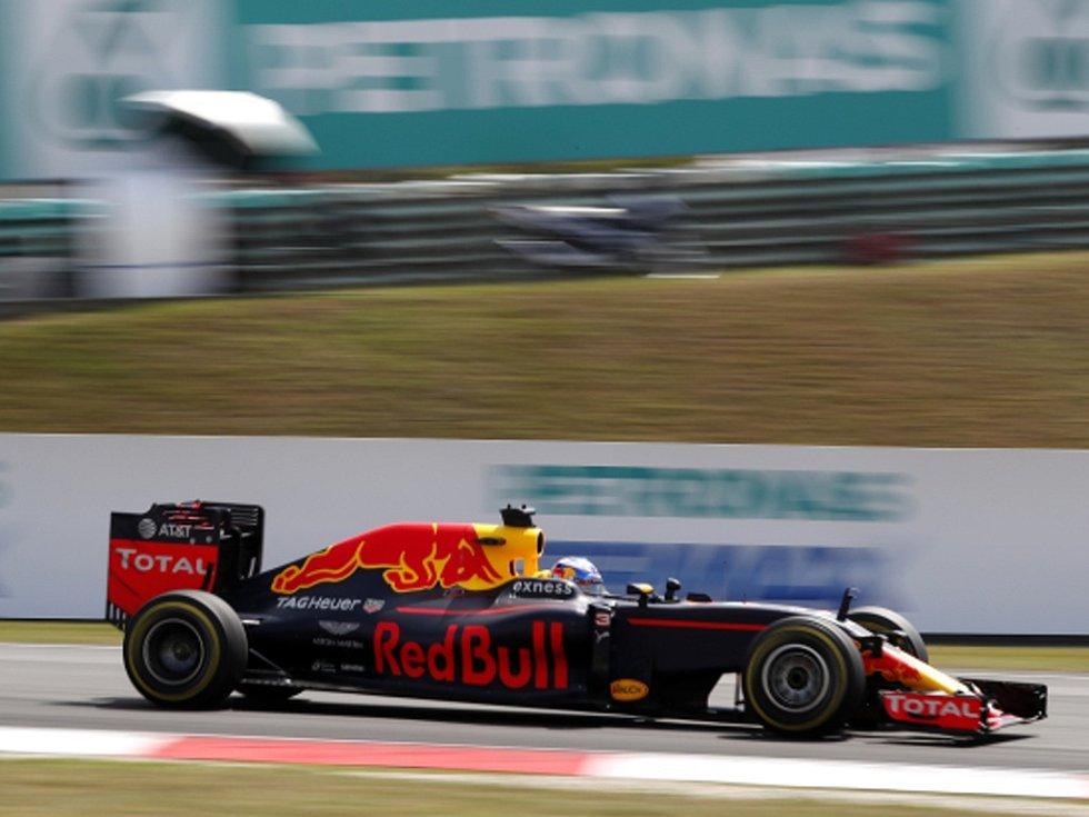 Daniel Ricciardo ve Velké ceně Malajsie.