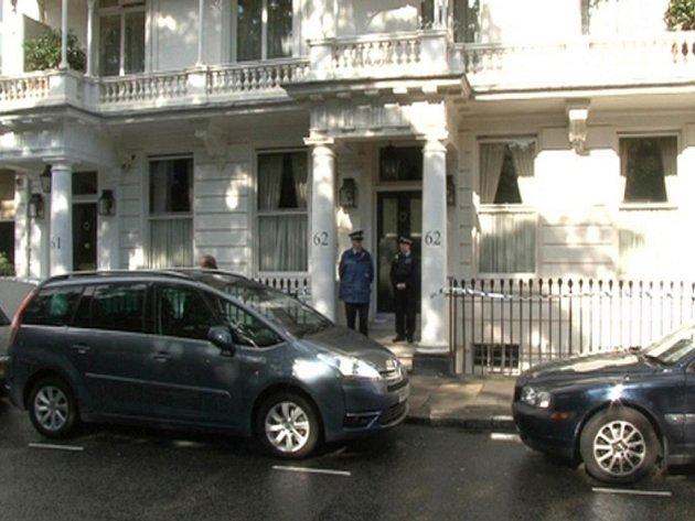 Dům, ve kterém byla Eva Rausingová nalezena mrtvá.