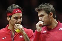 Švýcaři si přiblížili triumf - ovládli čtyřhru