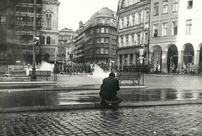 Liberec - slzný plyn - 21.8.1969