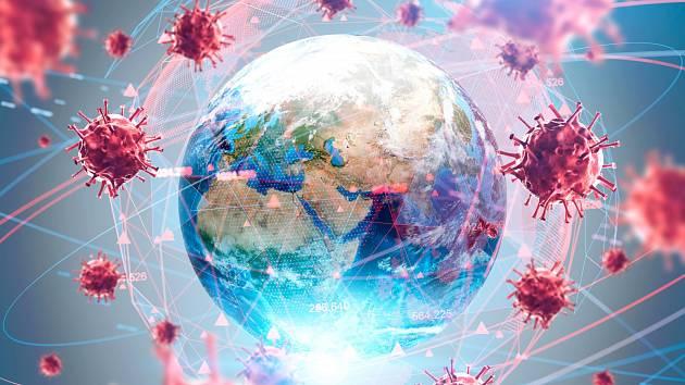 Mapa koronaviru.